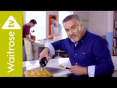 ▶ Get Baking with Paul Hollywood | Potato and Thyme Focaccia | Waitrose - YouTube