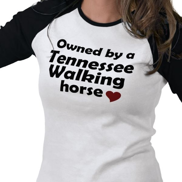 Tennessee Walking Horse Shirt from Zazzle.com