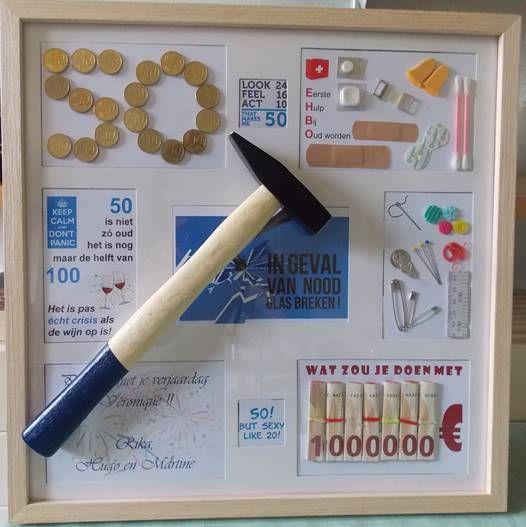 Een origineel cadeau voor een vriendin die 50 wordt...
