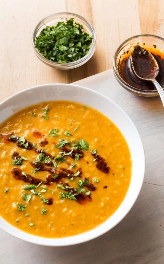 Red Lentil Soup with North African Spices. If you'd like to cook more beans but are unsure of where to begin, red lentils are the ideal gateway legumes and this soup is a flavorful way to start.
