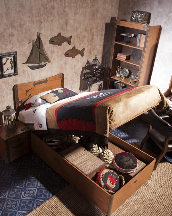 M s de 25 ideas incre bles sobre dormitorio de pirata en - Dormitorios infantiles tematicos ...