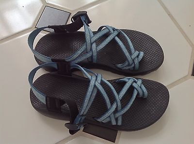 Womens Chaco Sandals ZX 2 Yampa Turquoise Blue Size 9 | eBay