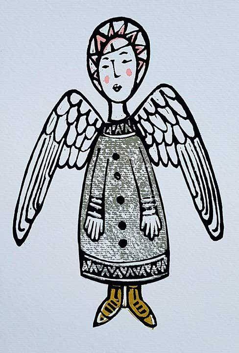 Angel prints for Carole