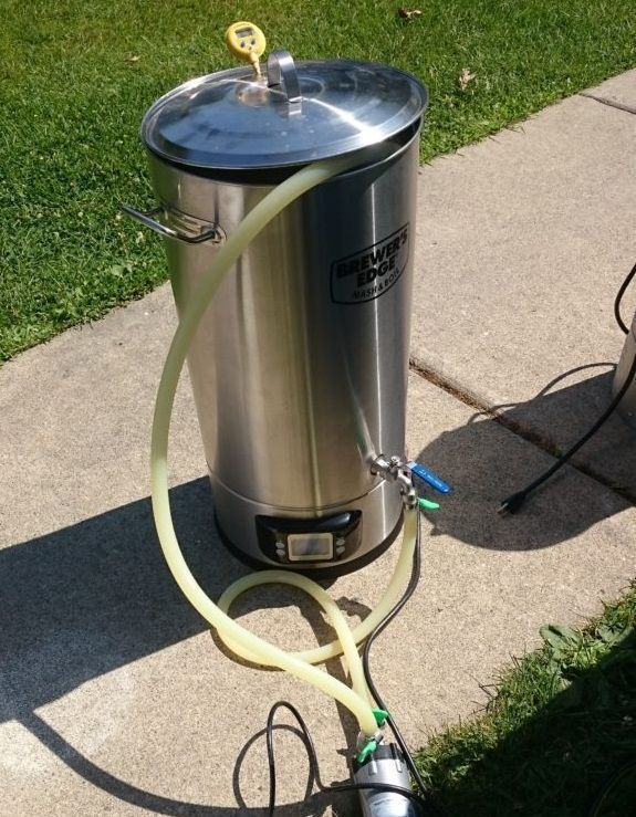 Top Post Hands On Review Brewers Edge Mash Boil Electric