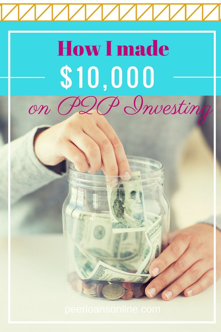 How I Made $10,000 on P2P Investing, and How to Make More. I've always wondered how peer to peer lending worked, and after this post I'm so inspired to start p2p investing myself. Seriously such a great post click over and read the full post http://peerfinance101.com/made-9000-peer-lending/