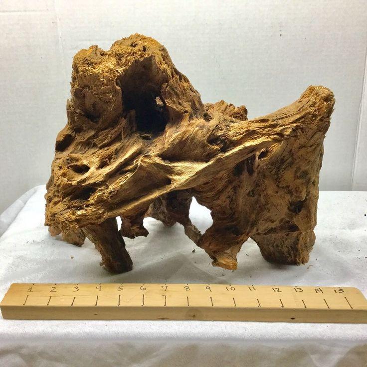 "Aquarium Driftwood Mangrove Large Piece #15x12""x8"" Fish Tank Drift Wood"