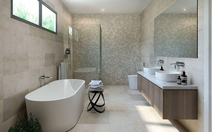 Interior 3d Render Bathroom  Corona Render