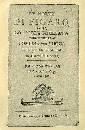 Le nozze di Figaro - Wikipedia