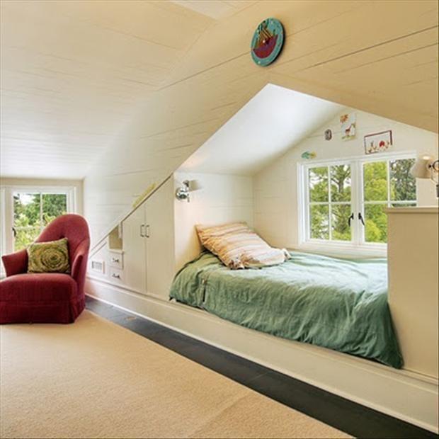Fun Ideas To Make The Most Of Small Spaces – 48 Pics. Gran kids loft ideas a plenty!!!