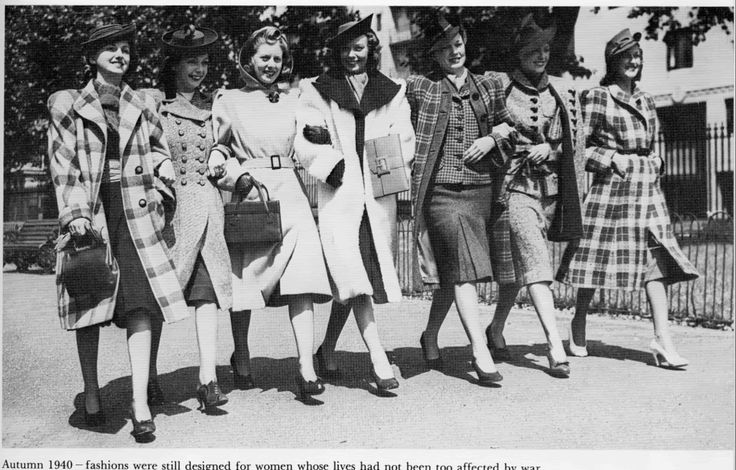 Real Vintage Clothing: 1940s Women's Fashion By: Dollface & Dapper Vintage