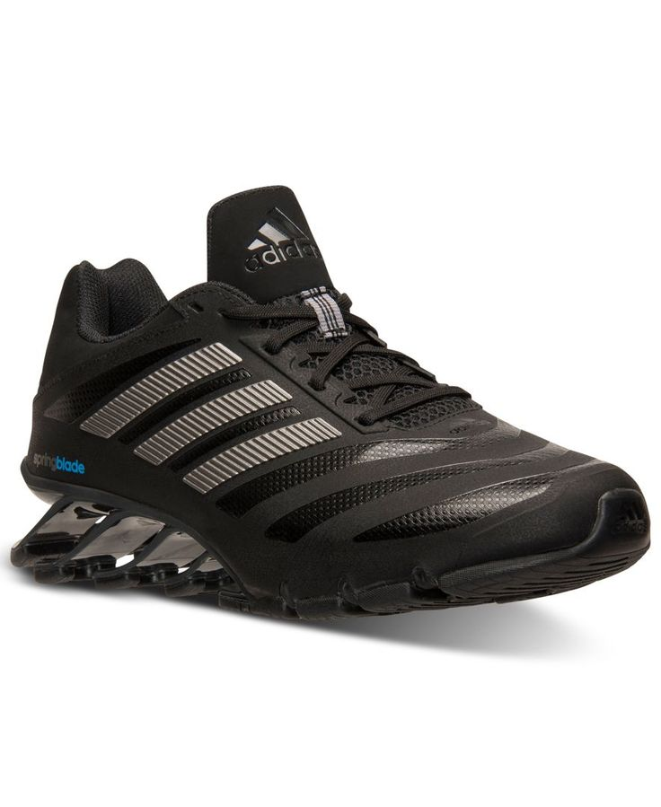 watch f83de 686ea ... yellow running shoes 6 adidas Mens Springblade Ignite Running Sneakers  from Finish Line . ...