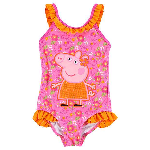 Girls' Peppa Pig One Piece Bathers - Hannah