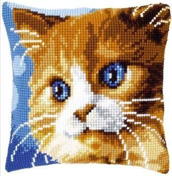 Faţă de pernă cu pisicuţă - kit