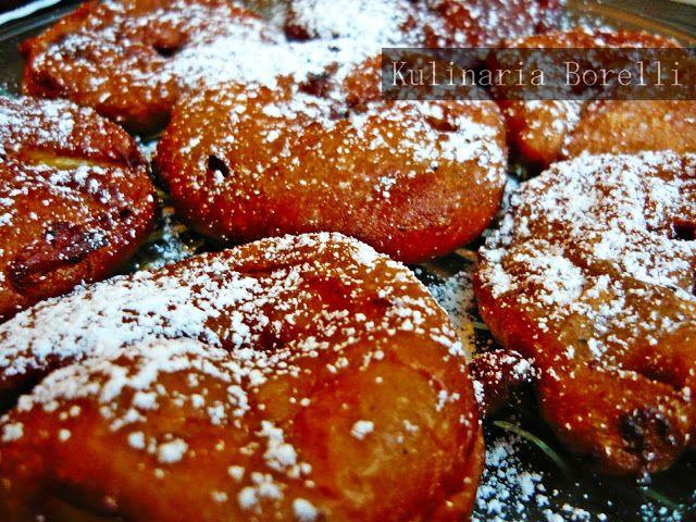 Kulinaria Borelli: Pączki z jabłkiem
