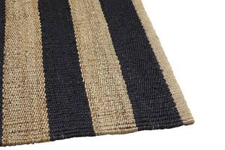 Nest Weave Awning Stripe - Charcoal & Natural