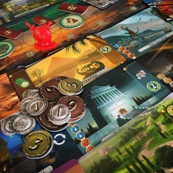 Two player goodness with #7WondersDuel from @reposproduction anything with #Bauza or #Cathala on the box and we're in, double win here. #7Wonders #tabletop #tabletopgame #boardgame #boardgamegeek #bgg #boardgames #boardgamer #tabletopgamer #brettspiel #juegodemesa #gamenight