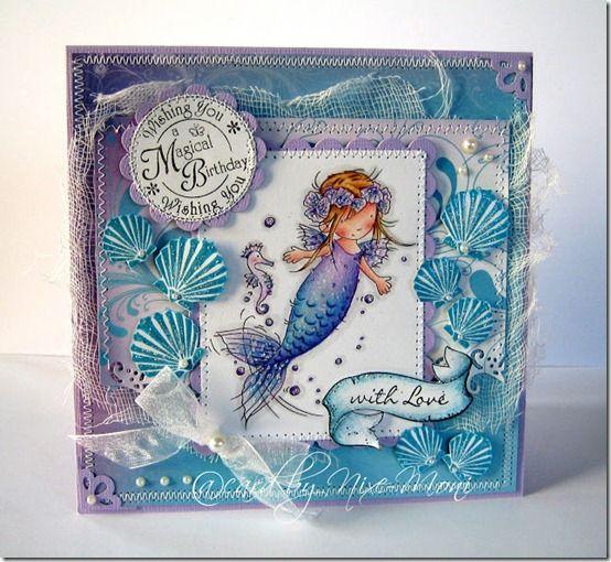 LOTV - Little Mermaid 1 - http://www.liliofthevalley.co.uk/acatalog/Stamp_-_Little_Mermaid_1.html