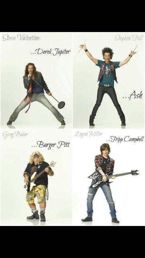 Derek Jupiter, Ash, Burger Pitt, and Tripp Cambell. Iron Weasel.