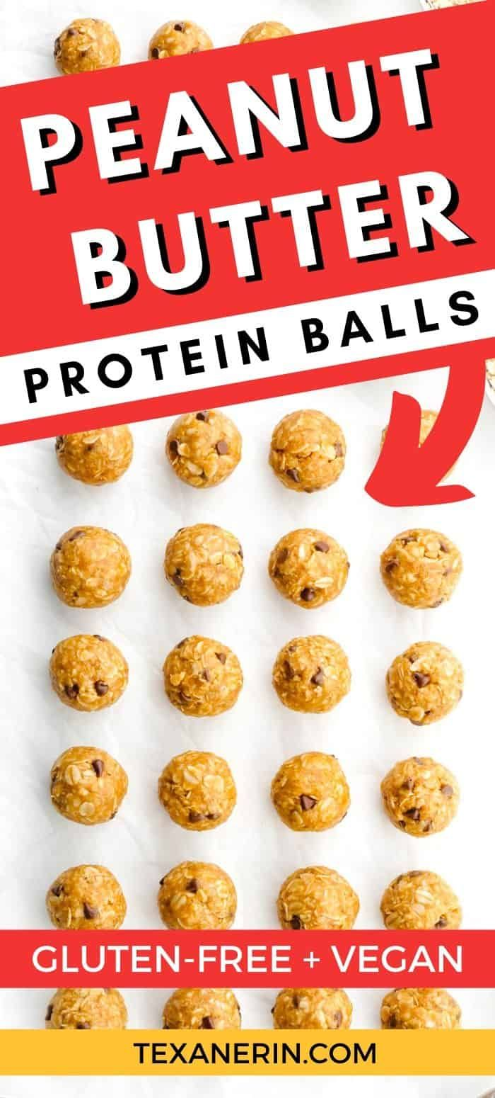 These 6 Ingredient Peanut Butter Protein Balls Only Take A Few