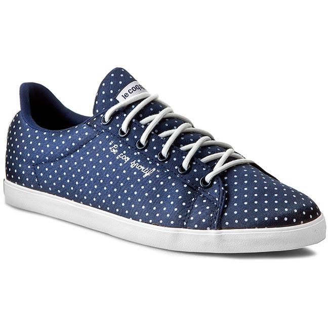 Tenisówki LE COQ SPORTIF - Agate Lo Satin Dots 1520871 Dress Blue/Optical White