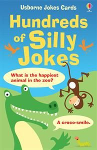 Hundreds of Silly Jokes! These activity cards are great for ages 6+. Just $9.99 - an outstanding idea for birthday or anytime gift for the child who loves to make others laugh! See the whole activity & flash card selection at http://M3001.myubam.com/c/14/flashcards-activity-cards