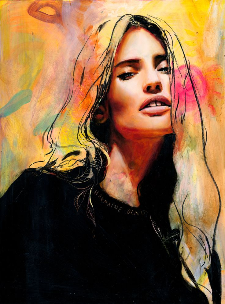 410 best Charmaine Olivia ・ ART images on Pinterest | Art ... - photo#1