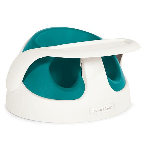 Mamas and Papas Baby Snug-great for eating pre-highchair and travels well. It doubles as a play tray too
