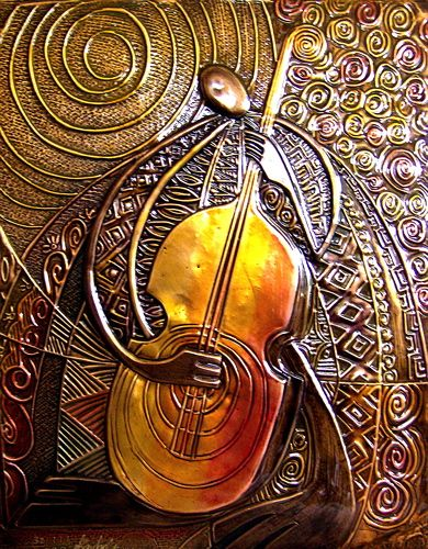Bass (Copper Relief)