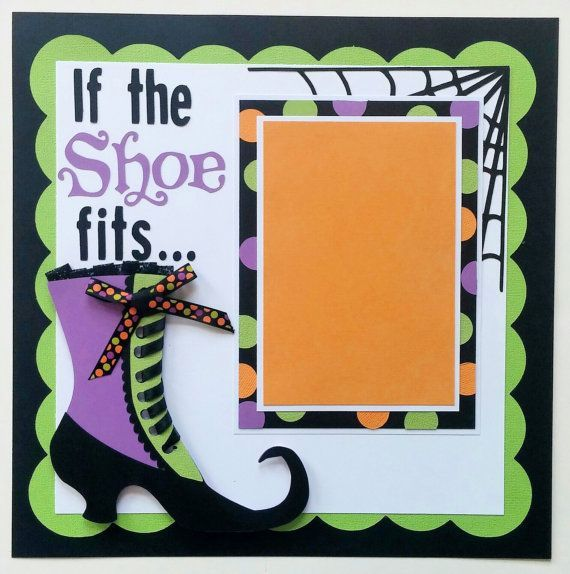 Halloween scrapbook page - Scrapbook page costumes - Trick or treat page…