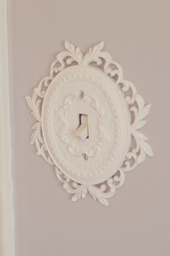Light switch cover. Cute, and I just like the overall idea of switching to a more unique cover!