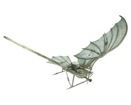 Assassin's Creed Brotherhood — Da Vinci's Flying Machine, Кредо Убийцы Братство крови — Летательный аппарат Да Винчи