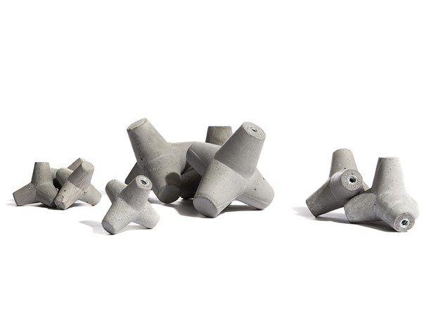concrete knob design Urbi et Orbi 2014