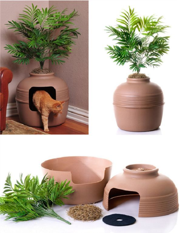 Hidden Litter Box - nice idea for cat owners. Description from pinterest.com. I searched for this on bing.com/images