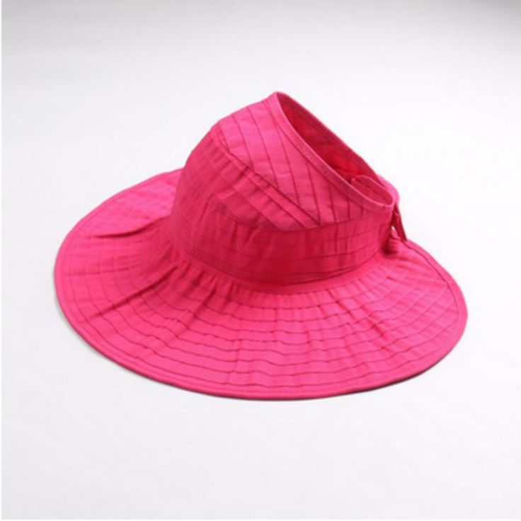 Floppy String Sombrero Wide Brim Sun Visor Beach Hat