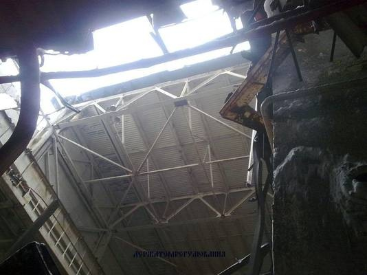 chernobyl Chernobyl radiation unaffected after roof collapse