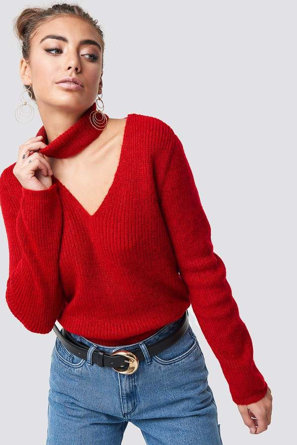 Classy Red Sweaters Under 50 To Wear With Denim Womens Style