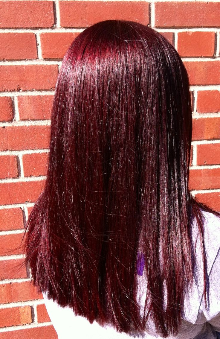 Behind the chair hair color - Kenra Color Is Amazing 4rr 6r With Red Booster And You Have This Beautiful Canara Hair Colorred Hair Colorbehind The Chairdark