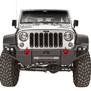 Fab Fours Vengeance Front Bumper for JK Jeep Wrangler