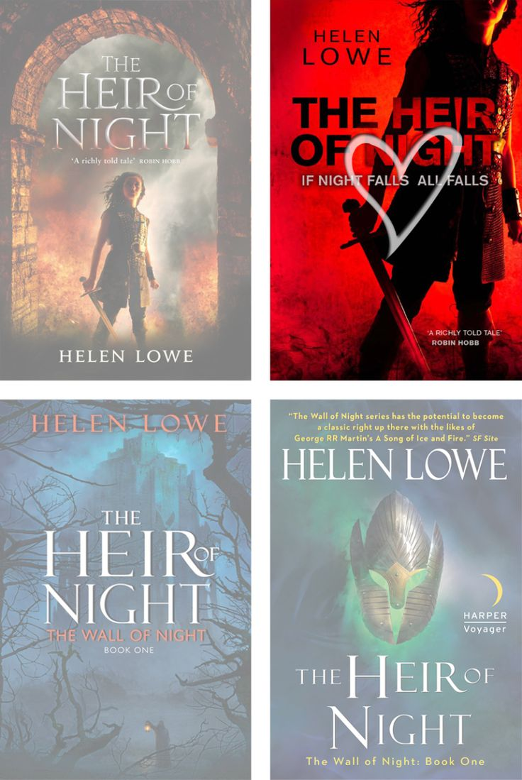 Books by Proxy | The Friday Face-Off  - The Heir of Night by Helen Lowe - Orbit #2 Wins!