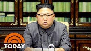 North Koreas Kim Jong Un Calls President Donald Trump Mentally Deranged US Dotard | TODAY