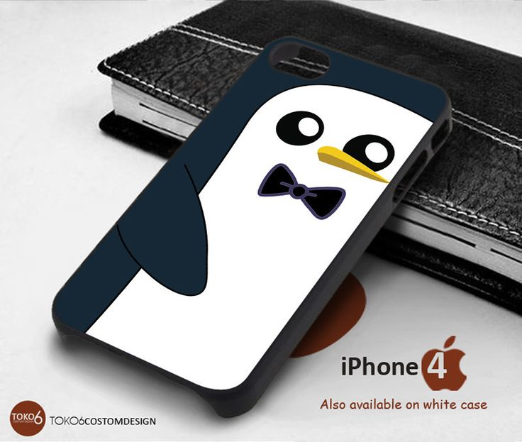 Adventure Time Gunter for iPhone 4/4S, iPhone 5/5S, iPhone 6, iPod 4, iPod 5, Samsung Galaxy Note 3, Galaxy Note 4, Galaxy S3, Galaxy S4, Galaxy S5, Galaxy S6, Phone Case