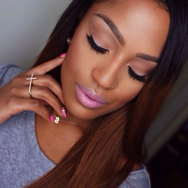 "Full details of Soft glam✨ @coverfx cream foundation. Nars Mata Hari blush. @anastasiabeverlyhills contour kit. @stilacosmetics sun highlighter. @motivescosmetics ""petal pink"" lipstick with ""scandal"" lip gloss. @flutterlashesinc ""Annabelle"" lashes. @anastasiabeverlyhills ""dark brown/brunette"" brow powder duo. Mac soft brown and brule on the eyes. #makeupshayla #flutterlashes #motivescosmetics #coverfx #anastasiabeverlyhills"