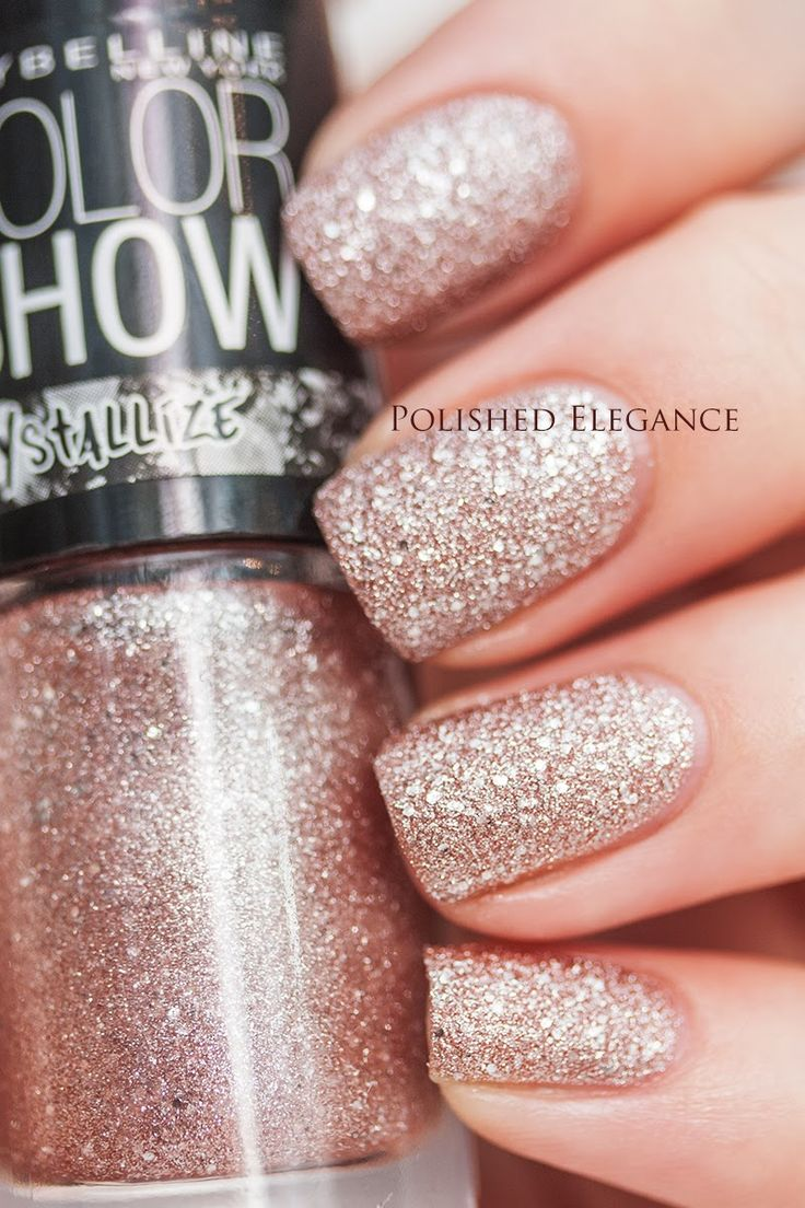 Maybelline - Rose Chic Maybelline New York ColorShow Crystallize swatches and review