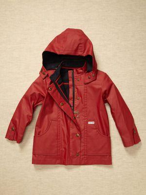 Hunter raincoat :)