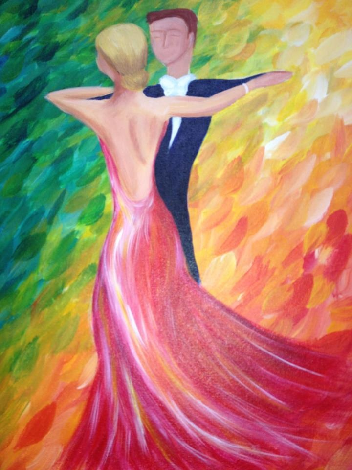 Dance with me palettes and pairings she looks too thin for Crazy mural lady