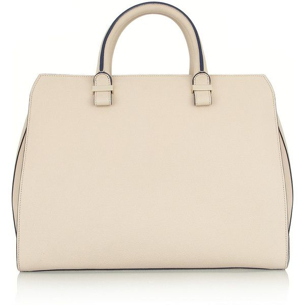 Victoria Beckham The Soft Victoria matte-leather tote found on Polyvore