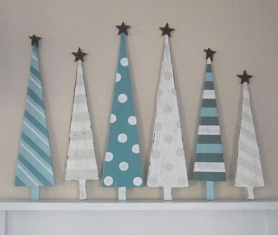 Decorazioni natalizie in legno per la tua casa in stile country ...