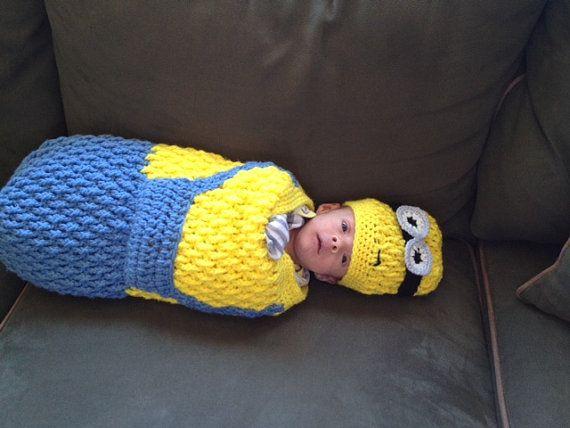 16 besten Minions Bilder auf Pinterest   Babyhäkelei, Minion-outfit ...