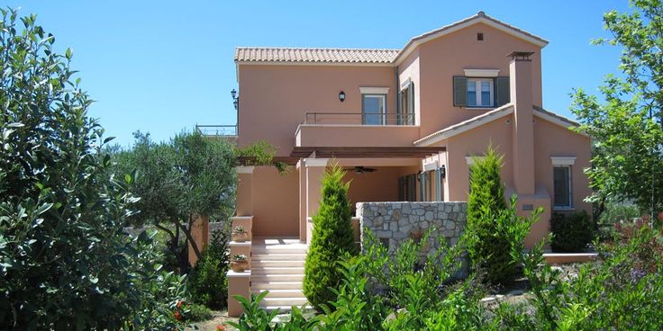 Kefalonia island - private luxury villa with tennis court – Ai-Helis beach Svoronata