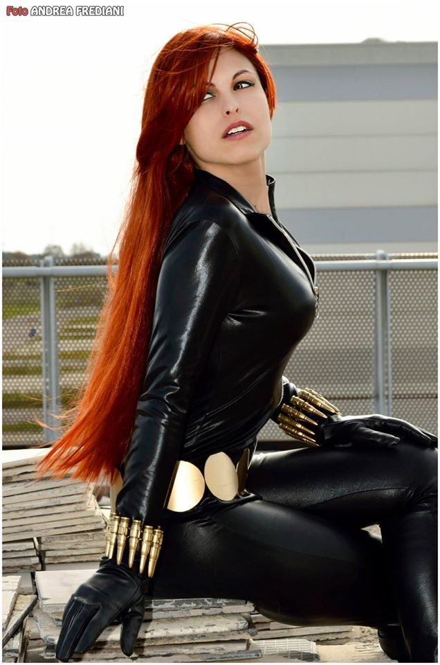 Marvel black widow cosplay